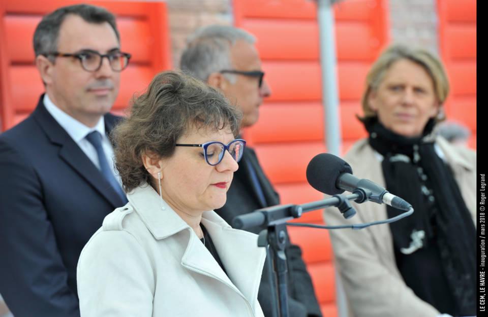 Martine Capuciny présidente du CEM, rappelle que le combat a été de chaque instant pour créer ce lieu magnifique. Nous l'avons fait !