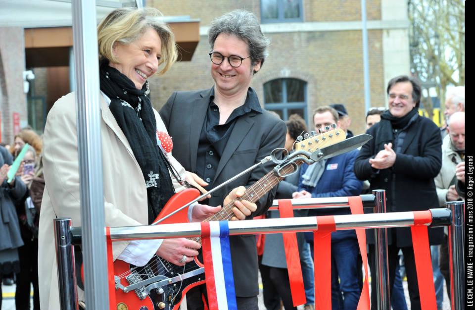 Emmanuelle Dormoy, représente Hervé Morin pour la Région Normandie.