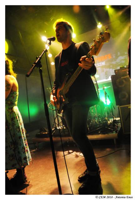 Nicolas Nouet, informaticien du CEM et bassiste !